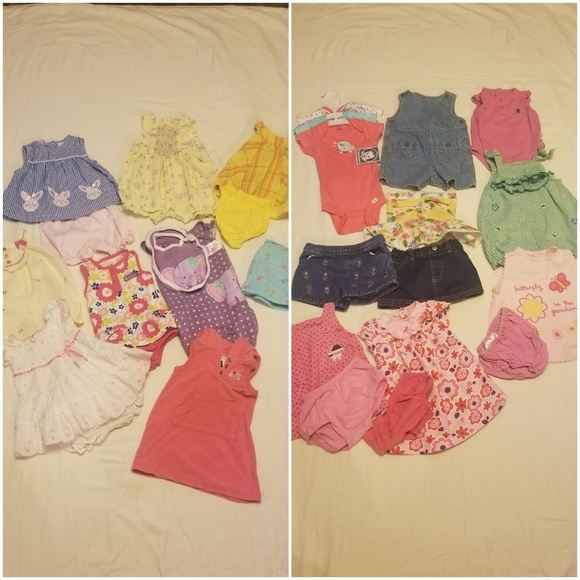 mixed Other - 28 piece bundle baby girl clothes
